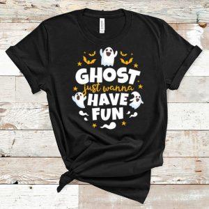 Premium Halloween Ghost Just Wanna Have Fun shirt