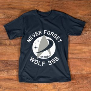 Premium Never Forget 43989 Wolf 359 shirt