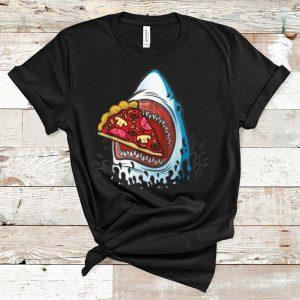 Premium Shark Eating Pizza Jawsome Halloween Costume shirt