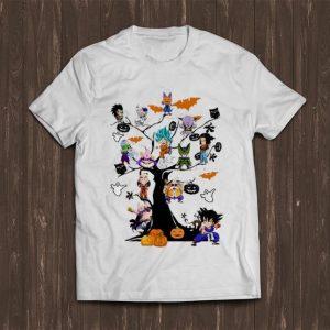 Premium Son Goku - Dragon Ball Character On The Halloween Tree shirt
