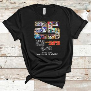 Premium Thank You For The Memories 25 Years Of Detective Conan 1994-2019 shirt