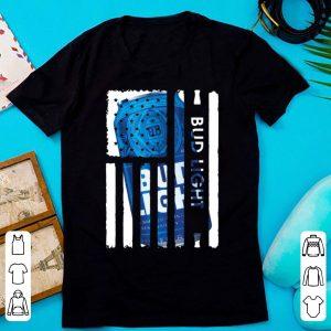 Pretty Bud Light American Flag shirt