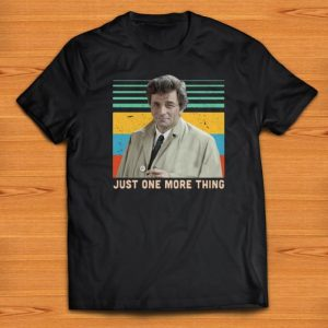 Pretty Columbo Just one more thing Vintage shirts