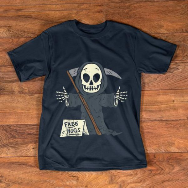 Pretty Free Hugs Grim Reaper Scary The Death Halloween Costume shirt