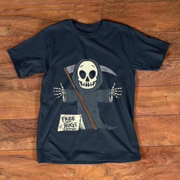 Pretty Free Hugs Grim Reaper Scary The Death Halloween Costume shirt 1 - Pretty Free Hugs Grim Reaper Scary The Death Halloween Costume shirt