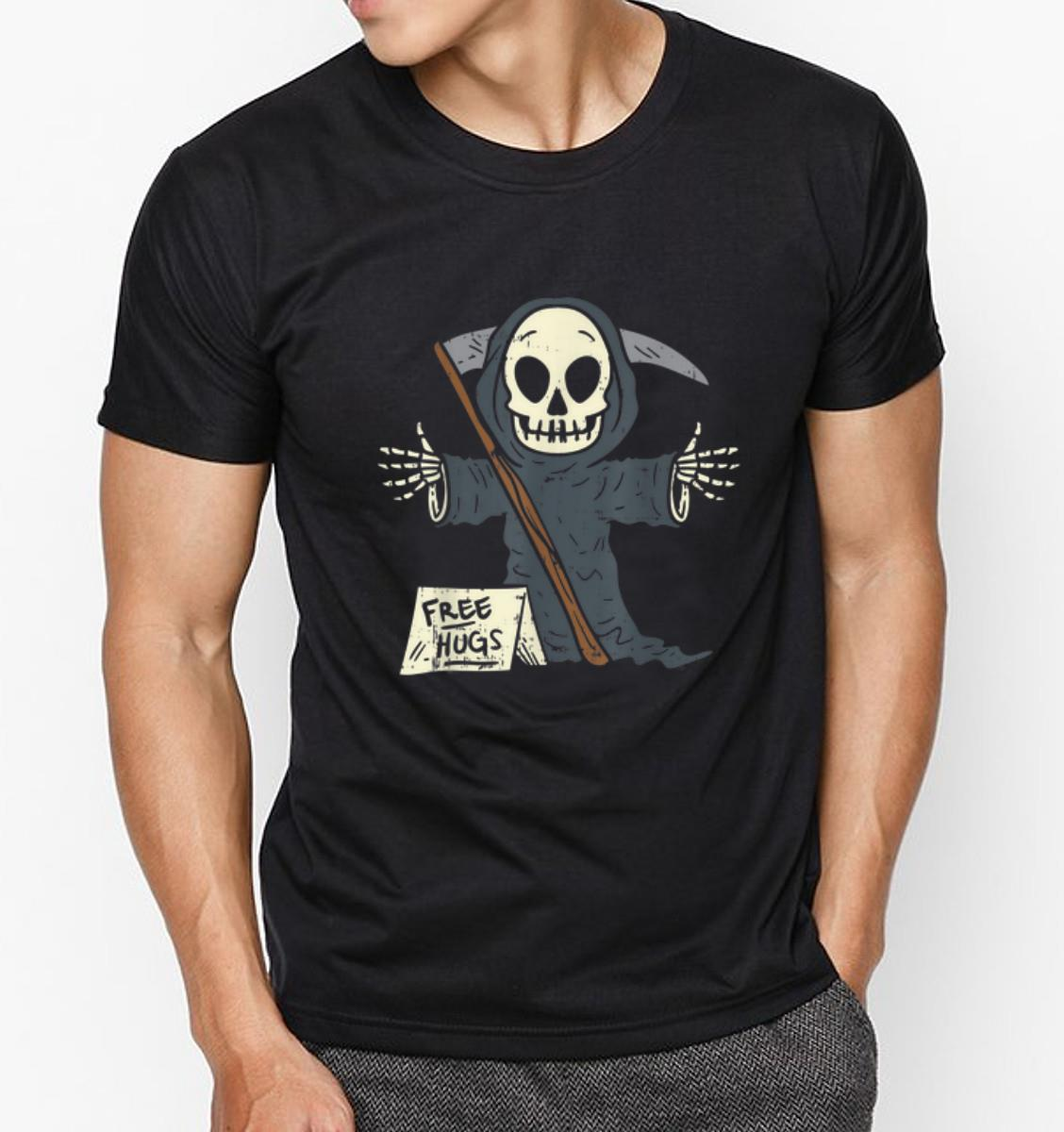 Grim Reaper Halloween Costume Design 100/% Cotton T Shirt