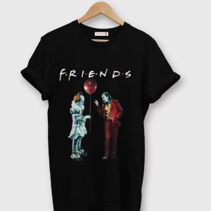 Pretty Friends Pennywise With Joker shirt