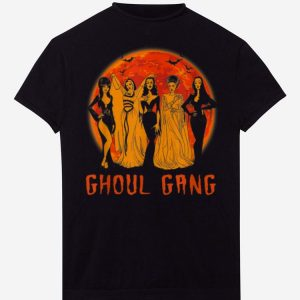 Pretty Ghoul Gang Bad Witches Halloween Blood Moon shirts