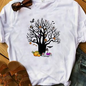 Pretty Tree Boo Boo Ghost Pumpkin Witch Halloween shirts