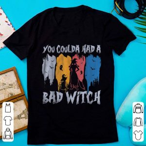 Pretty You Coulda Had A Bad Witch Halloween 70s Vintage shirt