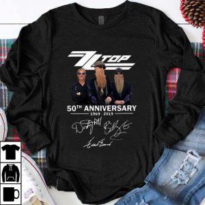 Pretty Zz Top 50th Anniversary 1969-2019 Signature shirt
