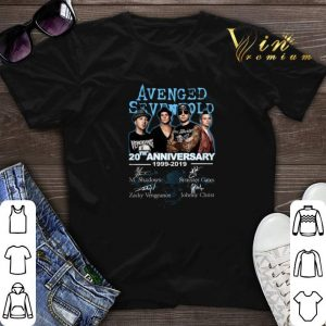 Signatures Avenged Sevenfold 20th Anniversary 1999-2019 shirt