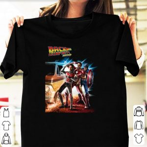 Top Back For The Infinity Stones Iron Man Captain America Ant Man shirt
