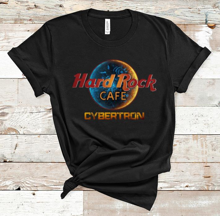 Top Cybertron Hard Rock Cafe shirt 1 - Top Cybertron Hard Rock Cafe shirt