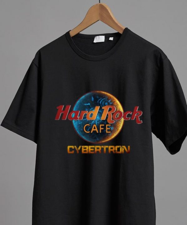 Top Cybertron Hard Rock Cafe shirt