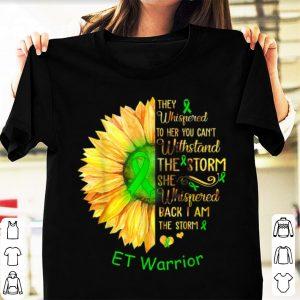 Top I Am The Storm ET Warrior Cancer Awareness shirt