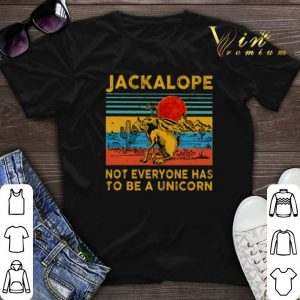 Vintage Jackalope not everyone has to be a unicorn shirt