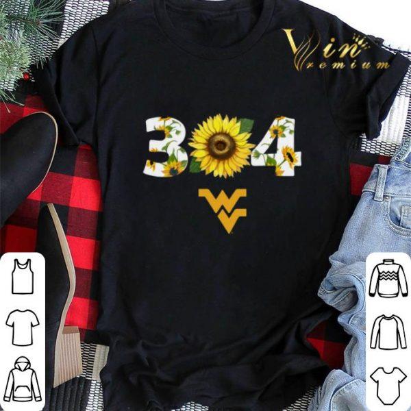 West Virginia Mountaineers Sunflower 304 shirt