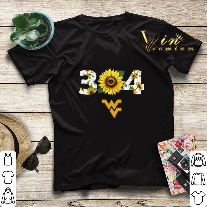 West Virginia Mountaineers Sunflower 304 shirt 4 - West Virginia Mountaineers Sunflower 304 shirt