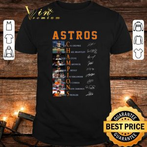 Astros Champions Zack Greinke Michael Brantley Jose Altuve shirt
