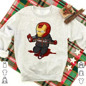 Awesome Chibi Iron Man FORMULA 1 Nike Avengers shirt