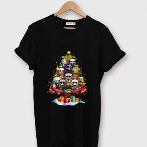 Awesome Christmas Tree Horror Character Merry Christmas shirt