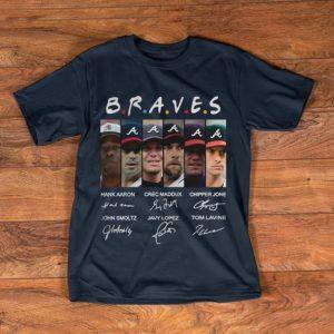 Awesome Friends Atlanta Braves MLB Signatures shirt