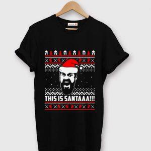 Awesome Gerard Butler Santa Claus This Is Santaaa shirt