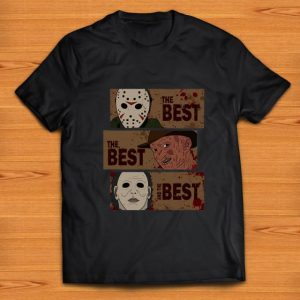 Awesome Horror Characters The Best The Best And The Best shirt