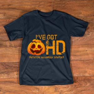 Awesome Pumpkin OHD Funny Obsessive Halloween Disorder Costume shirt