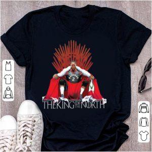 Awesome The King Of The North Iron Throne Kawhi Leonard Toronto Raptors shirt