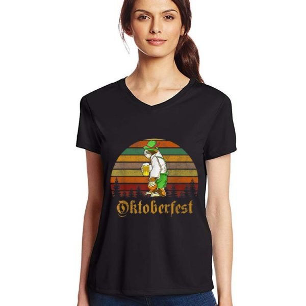 Awesome Vintage Sloth Beer Octoberfest shirt