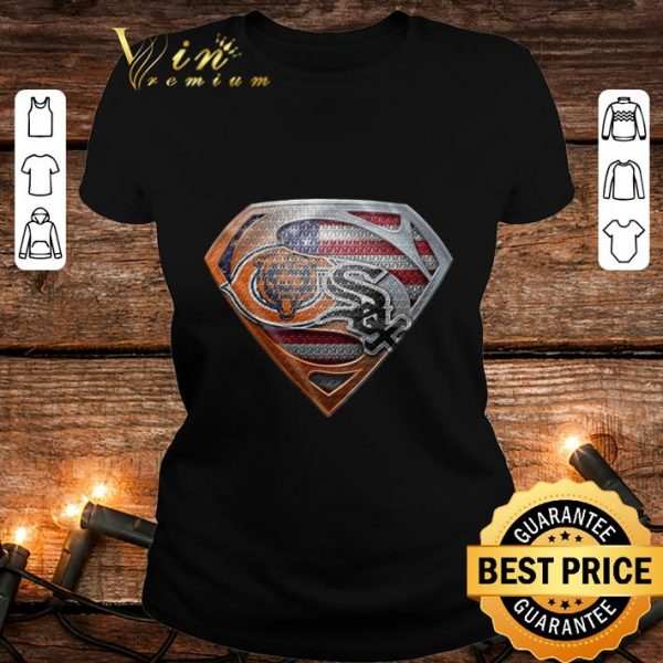 Chicago Bears Superman Logo Chicago White Sox shirt