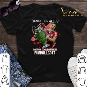 Danke Fur Alles Bastian Schweinsteiger Fubballgott shirt sweater