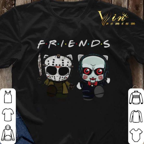 Friends Baby Jason Voorhees And Jigsaw shirt sweater