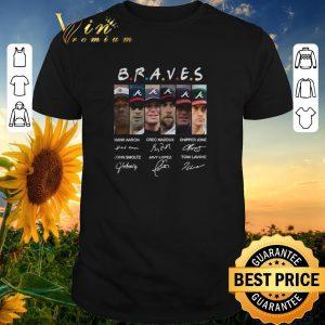 Funny Signatures Atlanta Braves team Friends shirt