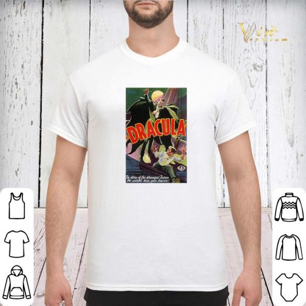 Halloween Dracula Monster Movie Poster shirt