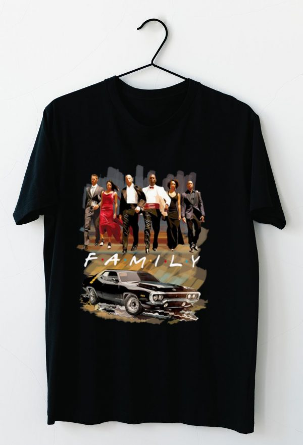 Hot Friends TV Show Fast and Furious shirt