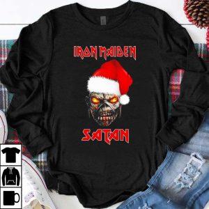 Hot Iron Maiden Merry Christmas Skull Satan shirt