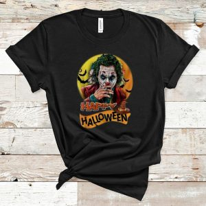 Hot Joaquin Phoenix Joker Happy Halloween shirt