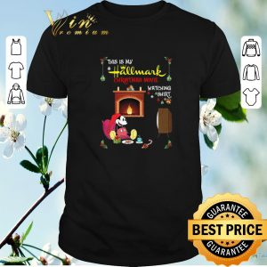 Hot Mickey Mouse this is my hallmark christmas movie watching shirt sweater