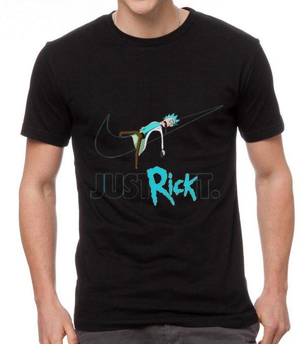 Hot Nike Rick Sanchez Just Rick It shirt