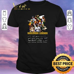 Hot Signatures Wisconsin Legends Green Bay Packers shirt