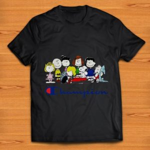 Hot Snoopy Peanuts Charlie Brown And Friends Champion shirt