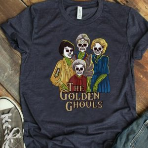 Hot The Golden Ghouls Halloween Golden Sisters shirt