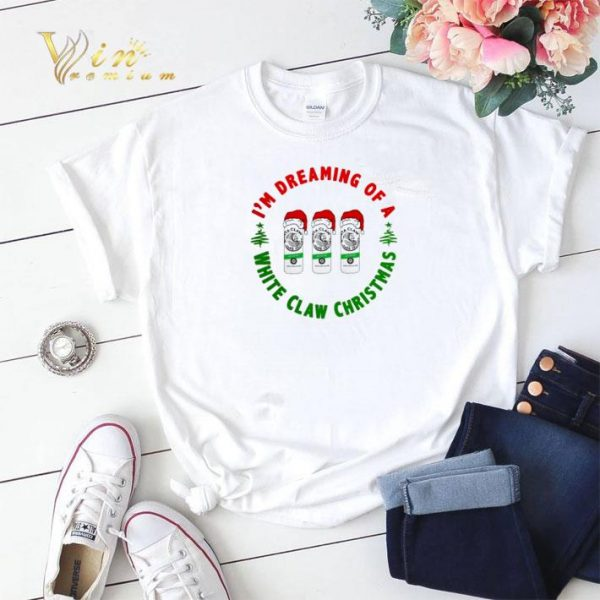 I'm dreaming of a Santa White Claw Hard Seltzer Christmas shirt sweater