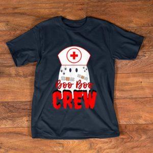 Nice Boo Boo Crew Nurse Halloween Ghost Funny Nursing Costume shirt