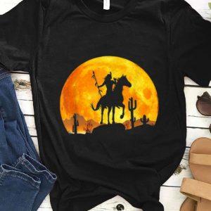 Nice Great Native American Day Pride Indian Halloween Moon shirt