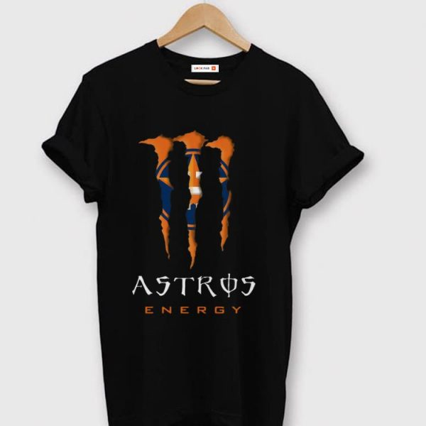 Nice Houston Astros Energy MLB Monster Energy shirt