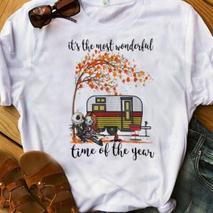 Official Jack Skellington And Sally It's The Most Wonderful Time Autumn shirt